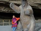 Фото из тура в Патагонию в 2012 году. У пещеры миладона, Патагония.