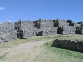 Фото из тура в Перу в 2004 году. Мегалитическая постройка инков- крепость Саксуаман на господствующих высотах возле Куско. Ее возводили несколько десятков тысяч человек в течкение 80 лет.