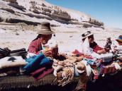 Фото из тура в Перу в 2004 году. Сувениры можно встретить даже  в самых диких местах.