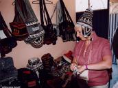 Фото из тура в Перу в 2004 году. Шоппинг в Перу - одно из самых  приятных занятий.