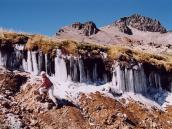 Фото из тура в Перу в 2004 году. Вечная мерзлота в пуне на высоте 4000 м