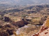 Фото из тура в Перу в 2004 году. Колка-каньон.
