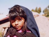 Фото из тура в Перу в 2004 году. Юная жительница острова Такиле на озере Титикака.