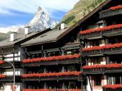 Гостиница в Церматте с видом на Маттерхорн, треккинг-тур в Швейцарию