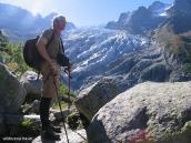 Фото из тура в Швейцарию в 2004 году. Ледник Д'Арпетт.