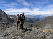 Фото из тура в Швейцарию в 2004 году. Вид на долину Роны.