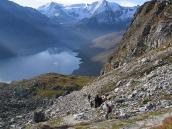 Фото из тура в Швейцарию в 2004 году. Вид с перевала Коль де Ро.