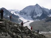 Фото из тура в Швейцарию в 2004 году. На пути к перевалу Рейдматтен.