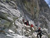 Фото из тура в Швейцарию в 2004 году. Лестница перевала Рейдматтен.
