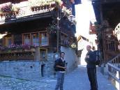 Фото из тура в Швейцарию в 2004 году. Грименц - деревня винных эстетов.