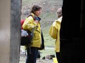 Фото из тура Непал-Тибет в 2004 году. На остановке по пути к Кайласу.