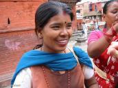 Фото из тура Непал-Тибет в 2004 году. Жительница Катманду.