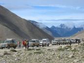 Фото из тура Непал-Тибет в 2004 году. Тибет. На джипах к Кайласу.