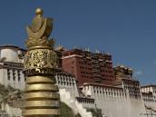 Фото из тура на Тибет в 2008 году. Лхаса, Потала -  зимний дворец далай-ламы
