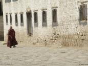 Фото из тура на Тибет в 2008 году. Монах в монастыре Сера в Лхасе