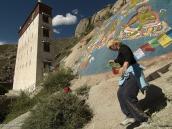 Фото из тура на Тибет в 2008 году. Лхаса, кора вокруг монастыря Сера