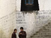Фото из тура на Тибет в 2008 году. В монастыре Ташилумпо в Шигадзе.