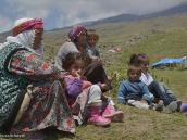 Фото из тура в Турцию в 2012 году. Натуральные курды, хозяева подножия горы. Летом они пасут здесь свои стада.