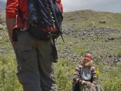 Фото из тура в Турцию в 2012 году. Наш гид Куби и его тетушка. Куби вырос на горе среди пастухов, поэтому знает Арарат, как собственную ладонь.