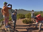 Фото из путешествия в ЮАР в 2013 году.  Стараемся запечатлеть друг друга перед стартом - мало ли, кто-то потеряется или не доползет до финиша...