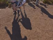 """Фото из путешествия в ЮАР в 2013 году. Перед выходом на маршрут некоторые заслуженные участники целиком намазываются """"кремом от боли"""" )))"""