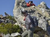 Фото из путешествия в ЮАР в 2013 году. По пути по-прежнему попадается большое число причудливых каменных глыб, обточенных ветром и водой.