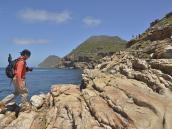 Фото из путешествия в ЮАР в 2013 году. После своей гибели их корабль превратился в призрак, который не может пристать к берегу и обречен вечно бороздить моря, предвещая несчастья всем, кто его увидит.