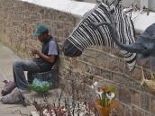 Фото из тура в ЮАР в 2013 году.  Плетение из бисера в Южной Африке весьма развито,