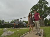 Фото из тура в ЮАР в 2013 году. Но мы вели себя хорошо, поэтому нас даже покатали на вертолете.