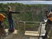 """Фото из тура в ЮАР в 2013 году.  К сожалению, со спины мы не видим лица Виктора. Может быть, он тоже зевает, как и оператор, кто его знает. Типа, """"моя жизнь - сплошная скука..."""" ))"""
