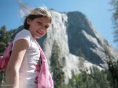 Фото из тура в США в мае-июне 2010 года. Километровая отвесная стена Эль Капитан - мечта многих скалолазов, Йосемити, Калифорния.
