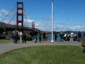 Фото из тура в США в мае-июне 2010 года. Начало!.. Голден Гейт, культовый мост в Сан-Франциско