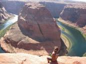 Фото из тура в США в мае-июне 2010 года. Знаменитая Подкова рядом с Гранд Каньоном, Аризона.