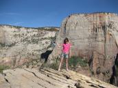 Фото из тура в США в мае-июне 2010 года. На фоне грандиозной стены Эль Капитан, Йосемити, Калифорния.