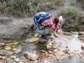 Фото из тура в Венесуэлу в феврале-марте 2012. Вода на территории нац. парка Канайма считается чистейшей в мире.