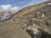 Поход в кратер активного вулкана Мутновский
