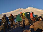 Штурмовй лагерь на Эльбрусе, 3800 м.