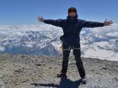 На Восточной вершине Эльбруса (5621 м)