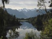 вид на гору Кука, самую высокую точку Новой Зеландии