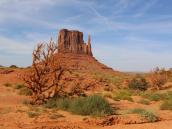 Скалы-останцы в Долине Монументов, штат Юта. Автор фото Ксения Каминская
