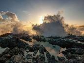 Реюньон: могучий прибой океана