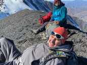 Подход к вершине Базар-дюзю (4660 м), Дагестан