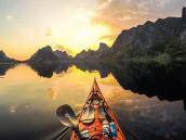Каякинг в Норвегии