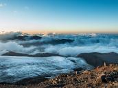 Потрясающие виды из Штурмового лагеря! Восхождение на Эльбрус с Севера. Автор Алексей Чуркин (с)