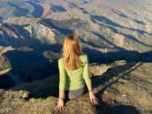 Вид с плато Гуниб
