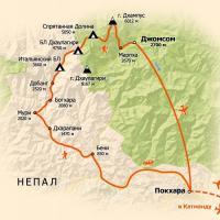 карта тура в Непал, треккинг в Непале вокруг Дхаулагири, трекинг в Непале, трекинг в Гималаях, тур в Непал, тур в Гималаи, треккинг в Непале, треккинг в Гималаях, восхождение в Непале, восхождение в Гималаях