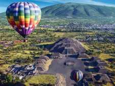 Панорамный вид на Теотиуакан