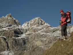 Подъем от Гокио на перевал Ренджо