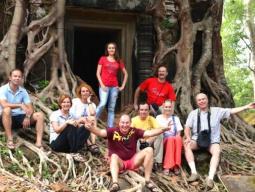у храма Анкор Ват