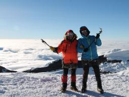 На вершине вулкана Катопакси (5897 м), Эквадор